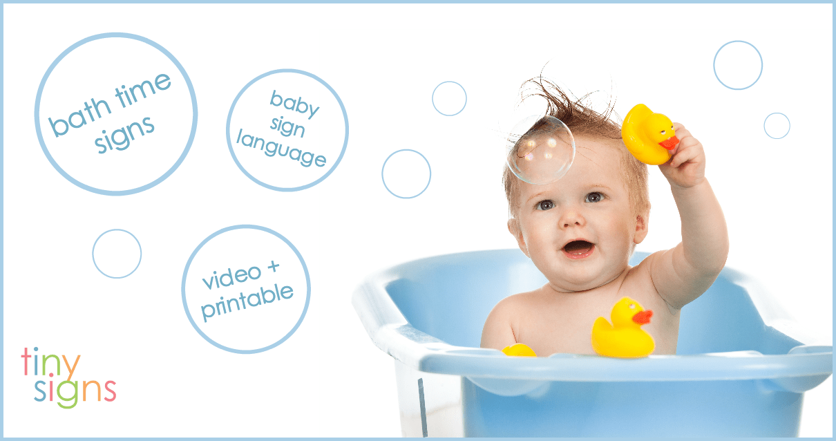 Baby Sign Language Bath Time
