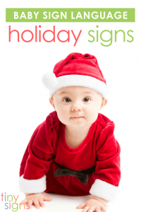 The holidays are a great time to teach your baby some fun new baby sign language! Learn how to sign CHRISTMAS, TREE, SANTA, LIGHT, REINDEER, ELF, GIFT, BELL and STAR in this free video tutorial.