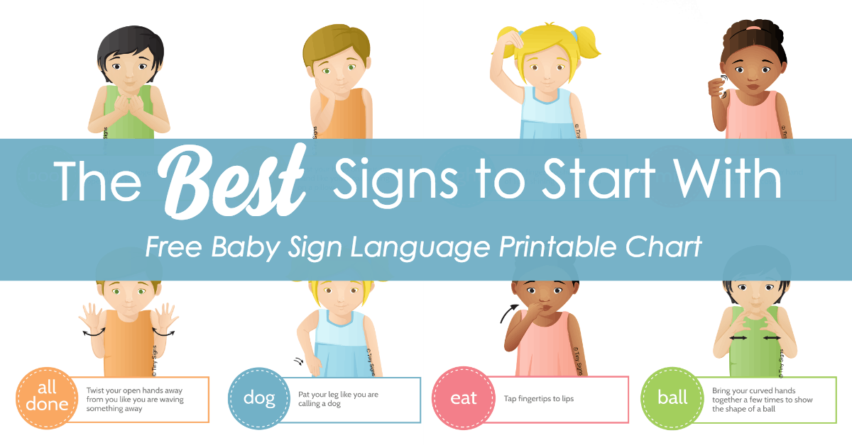 The Best Signs to Start With :: 9 Great Starter Signs